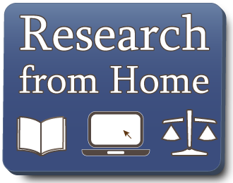 Research from Home icon